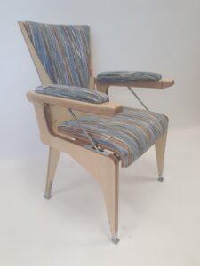 op sta stoel 'de Bib' Kendro-Stijl
