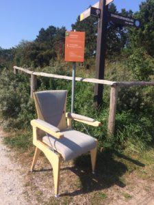 Sta-op-stoel 'de Bib'
